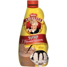 Nestle ABUELITA Chocolate Cinnamon Syrup 16 oz. Bottle