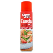 Great Value Canola Oil Cooking Spray, 8 oz