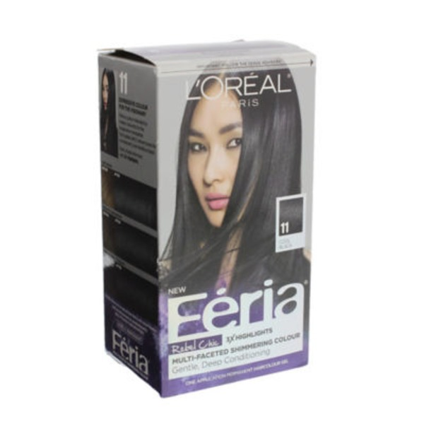 Feria Rebel Chic 11 Cool Black Hair Color