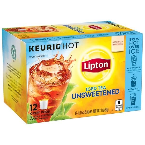 Lipton Unsweetened Iced Tea K-Cups