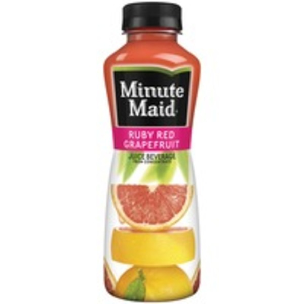 Minute Maid Juices To Go Ruby Red Grapefruit Juice Beverage