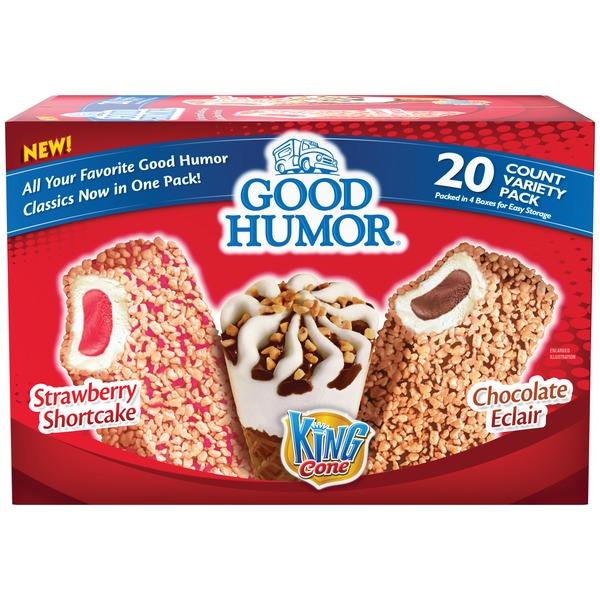 Good Humor Variety Pack King Cone