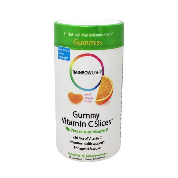 Rainbow Light Gummy Vitamin C Slices - 90 CT