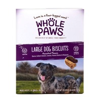 Whole Paws Large Assorted Flavor Dog Biscuits