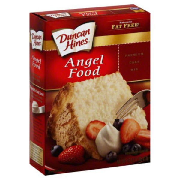 Duncan Hines Signature Angel Food Cake Mix