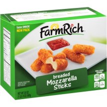 Farm Rich Breaded Mozzarella Sticks, 24 oz