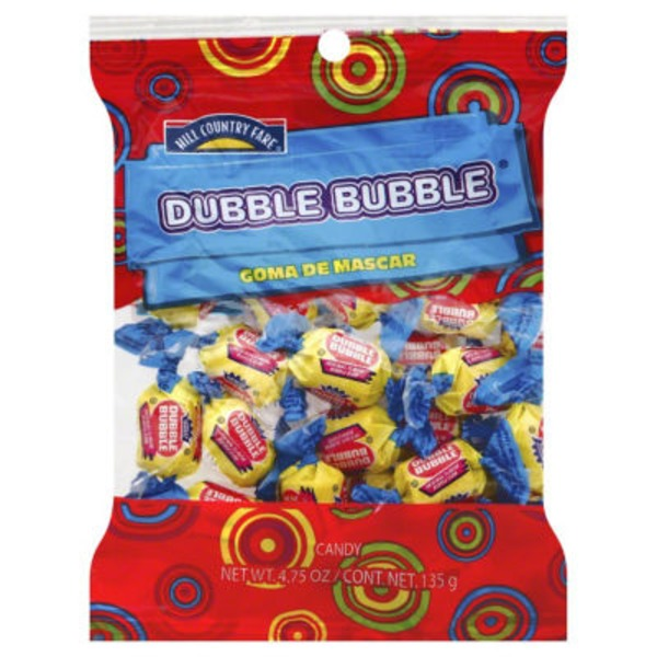 Hill Country Fare Double Bubble Gum