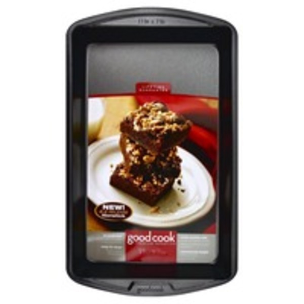 Good Cook Pro Premium Nonstick, Brownie Pan, Card