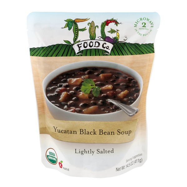 Fig Food Co. Yucatan Black Bean Soup Lightly Salted