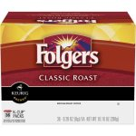 Folgers Classic Roast Coffee Pods, 36 pods