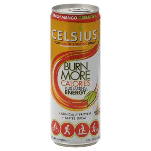 Celsius Peach Mango Green Tea