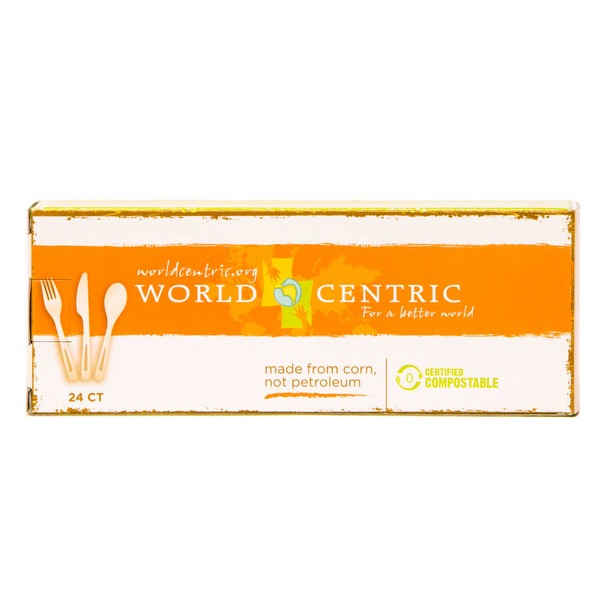 World Centric Assorted Plastic Flatware