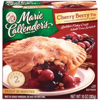 Marie Callender's Cherry Berry Topped with Cinnamon Sugar Fruit Pie