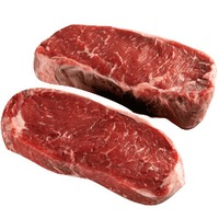 Beef Roasts Organic Grass Fed Beef Loin NY Strip Steak Boneless