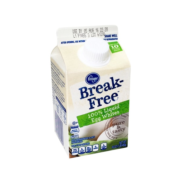 Kroger Break Free Egg Whites
