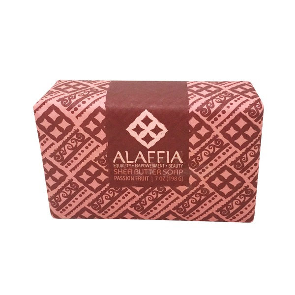 Alaffia Passion Fruit Shea Butter Soap