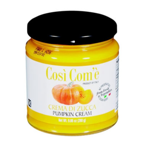 Cosi Come Pumpkin Cream