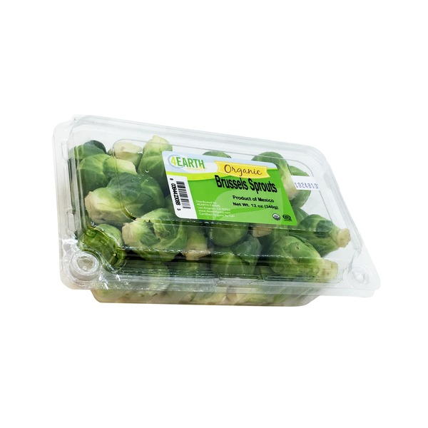 4 Earth Organic Brussel Sprouts