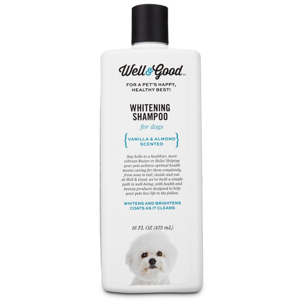 Well & Good Whitening Shampoo for Dog Vanilla & Almond Scented