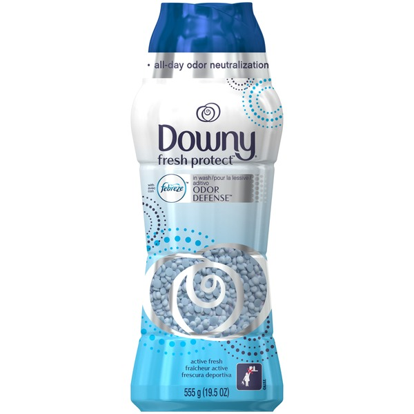 Downy Fresh Protect Downy Fresh Protect Active Fresh In-Wash Odor Defense 19.5OZ Fabric Enhancers