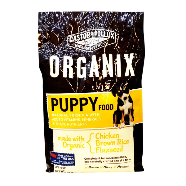 Castor & Pollux Organix Puppy Dog Food