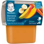 Gerber 2nd Foods Banana Carrot Mango, 4 Ounce Tubs, 2 Count