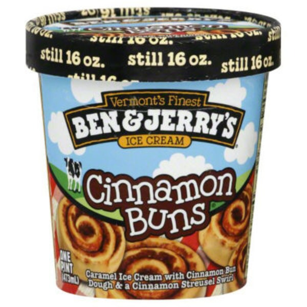 Ben & Jerry's Ice Cream Cinnamon Buns