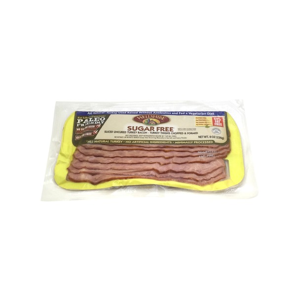 Wellshire Farms Sugar Free Paleo S0 Turkey Bacon