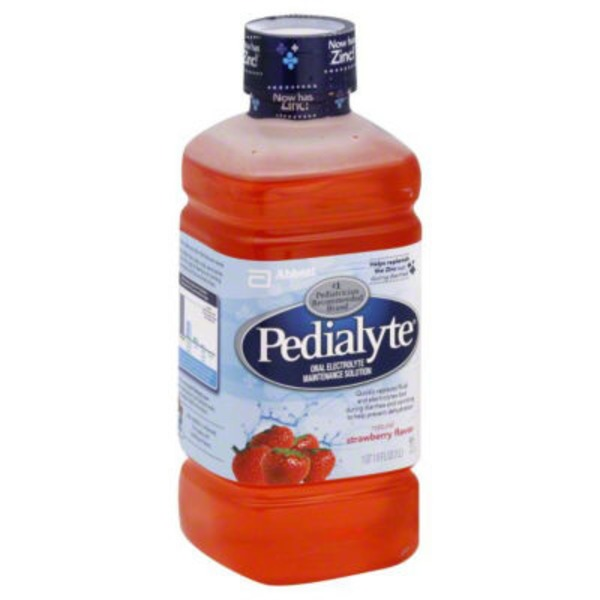 Pedialyte Strawberry Oral Electrolyte Maintenance Solution