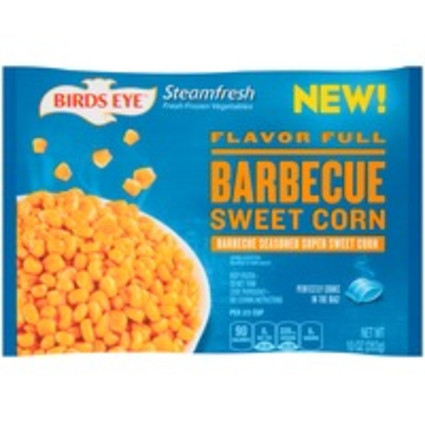 Birds Eye Steamfresh Barbeque Sweet Corn