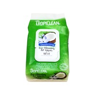 TropiClean Ear Cleaning Deodorizing Pet Wipes