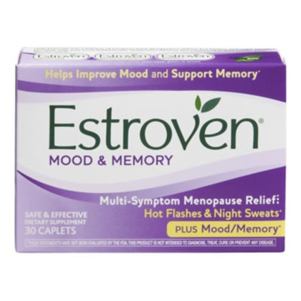 Estroven Mood & Memory Dietary Supplement - 30 CT