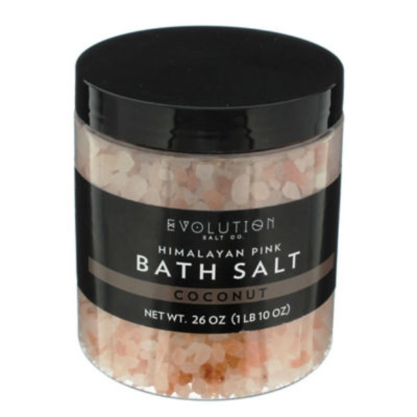 Evolution Salt Himalayan Crystal Coconut Bath Salt