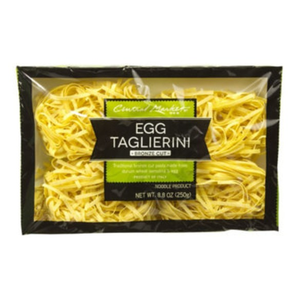 Central Market Egg Taglierini Bronze Cut Noodles