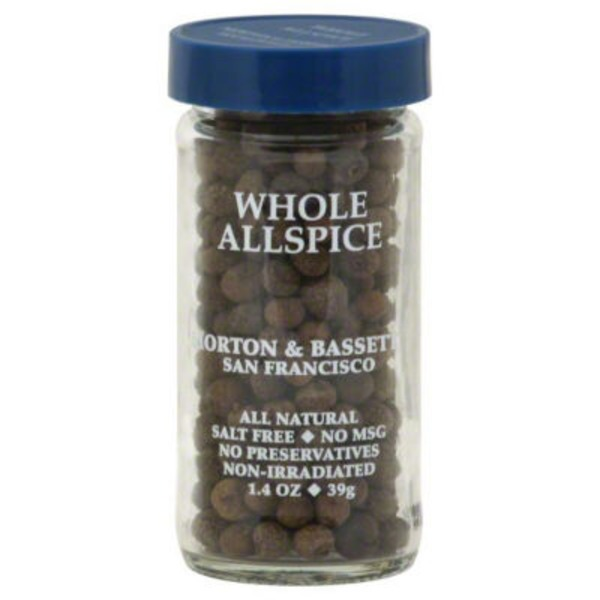 Morton & Bassett Spices Whole Allspice