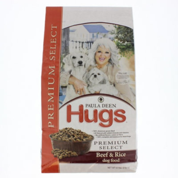 Paula Deen Hugs Premium Select Beef & Rice Dog Food