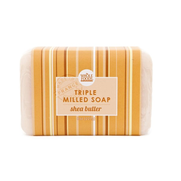 Whole Foods Market Shea Butter Triple Milled Soap Bar