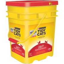Purina Tidy Cats Clumping Litter 24/7 Performance for Multiple Cats 35lb. Pail
