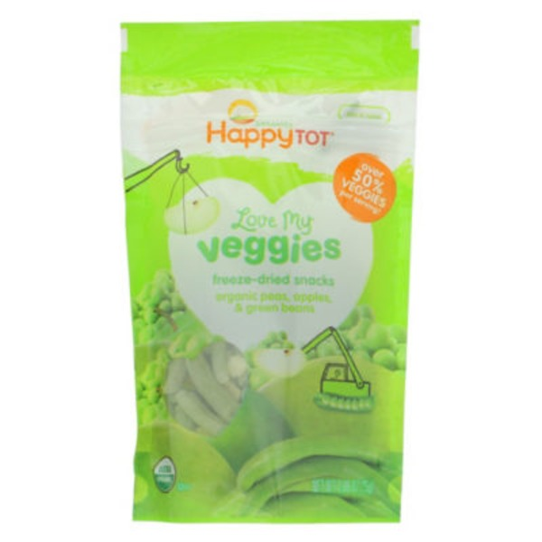 Happy Tot Organics Love My Veggies Peas, Apples & Green Beans
