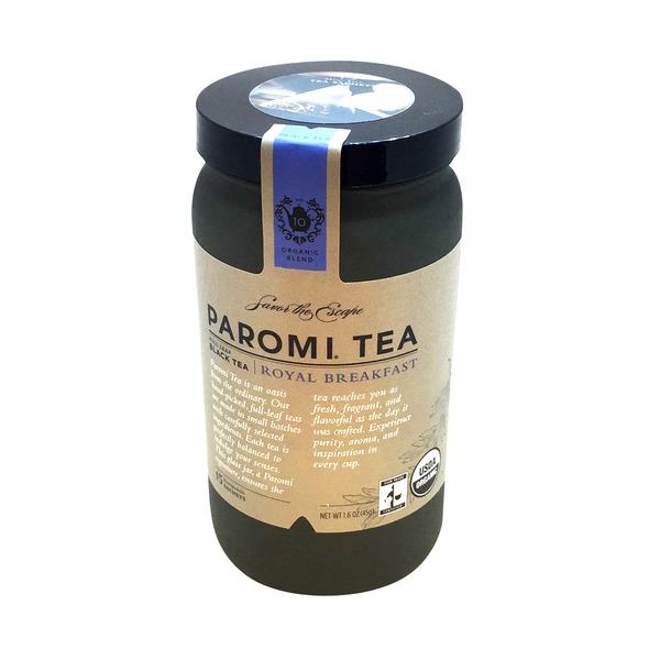 Paromi Tea Organic Royal Breakfast Black Tea