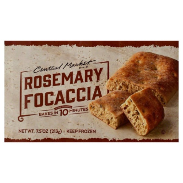 Central Market Rosemary Focaccia