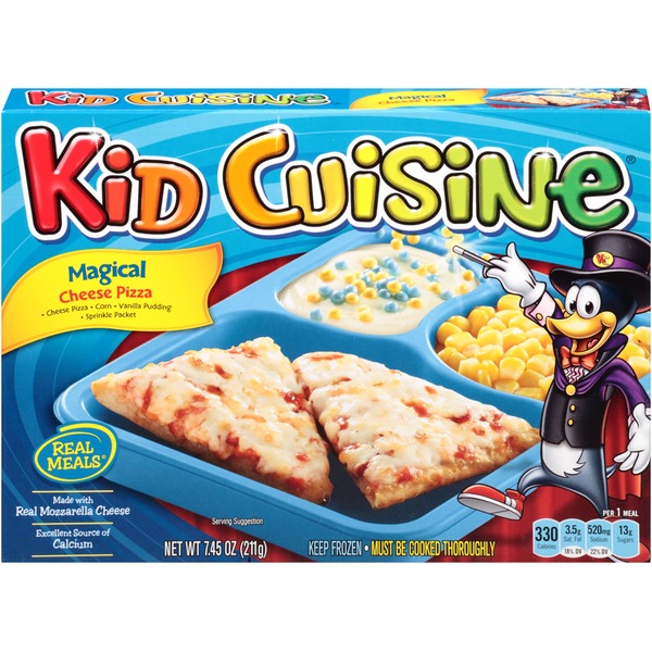 Kid Cuisine Magical Cheese Pizza Frozen Dinner