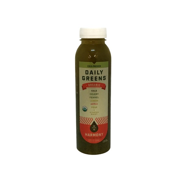 Daily Greens Organic Harmony Vegetable and Fruit Juice