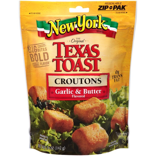 New York Style Bakery Texas Toast Garlic & Butter Croutons