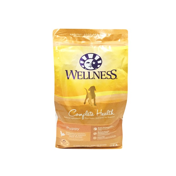 Wellness Complete Health Puppy Deboned Chicken, Oatmeal & Salmon Meal Recipe Natural Food for Puppies