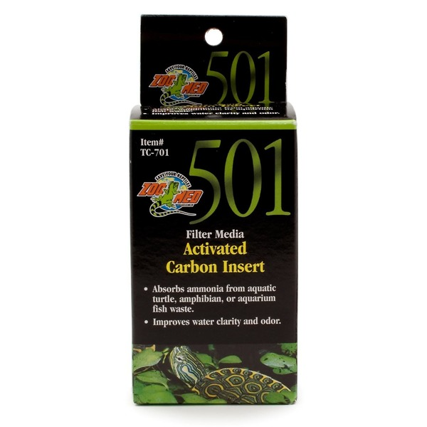 Zoo Med 501 Filter Media Activated Carbon Insert