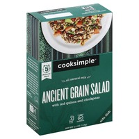 Cooksimple Ancient Grain Salad, with Red Quinoa and Chickpeas