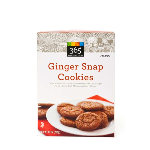 365 Ginger Snap Cookies