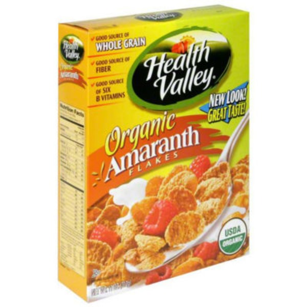 Health Valley Organic Sprouted Amaranth Flakes Baked Multigrain Cereal