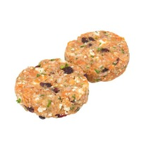 H-E-B Cranberry & Gorgonzola Salmon Burger